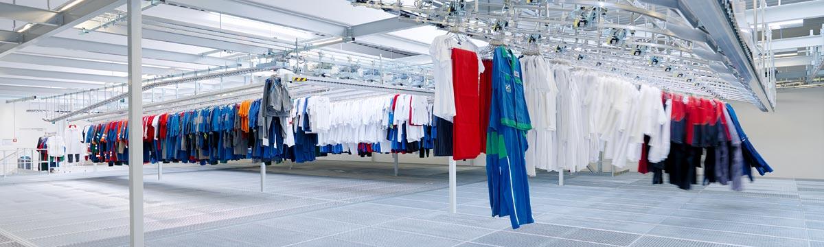 Wäschestrasse Staufer Textil © DBL Staufer