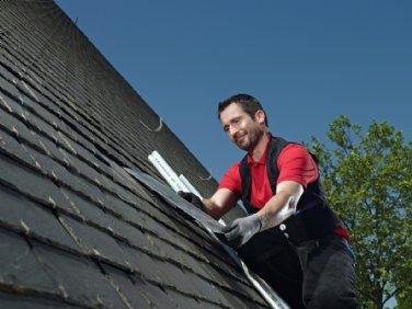 Arbeitskleidung für Dachdecker