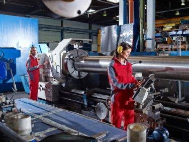 Arbeitskleidung für den Maschinenbau