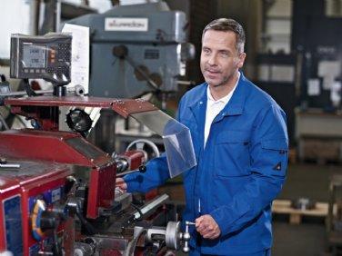 Arbeitskleidung für die Metallindustrie