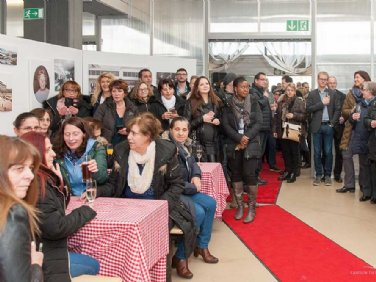 Das interessierte Publikum © Carolin Tietz