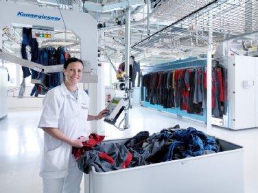 Gewerbliche Wäscherei-Anlernkraft (m/w)